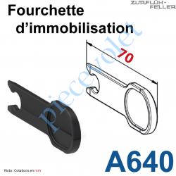 A640 Fourchette d'Immobilisation