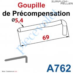A762 Goupille précompensée ZF 64