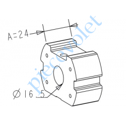 A772 Support d'Axe Zf 64