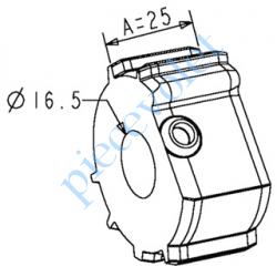 A781 Support d'Axe Zf 54