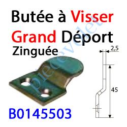 B0145503 Butée à Visser Grand Déport Zinguée