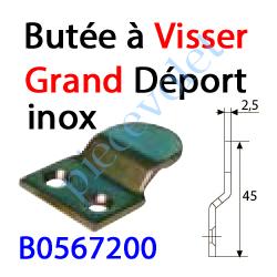B0567200 Butée à Visser Grand Déport en Inox