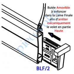 BLF/2 Butée de Lame Finale Amovible