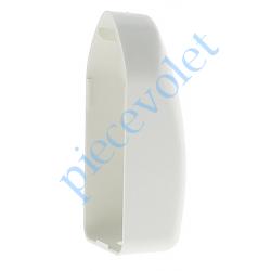 C291C9 Cache de Protection du Renvoi de Mouvement pour Treuil à Sortie Latérale Les Zelles Coloris Blanc