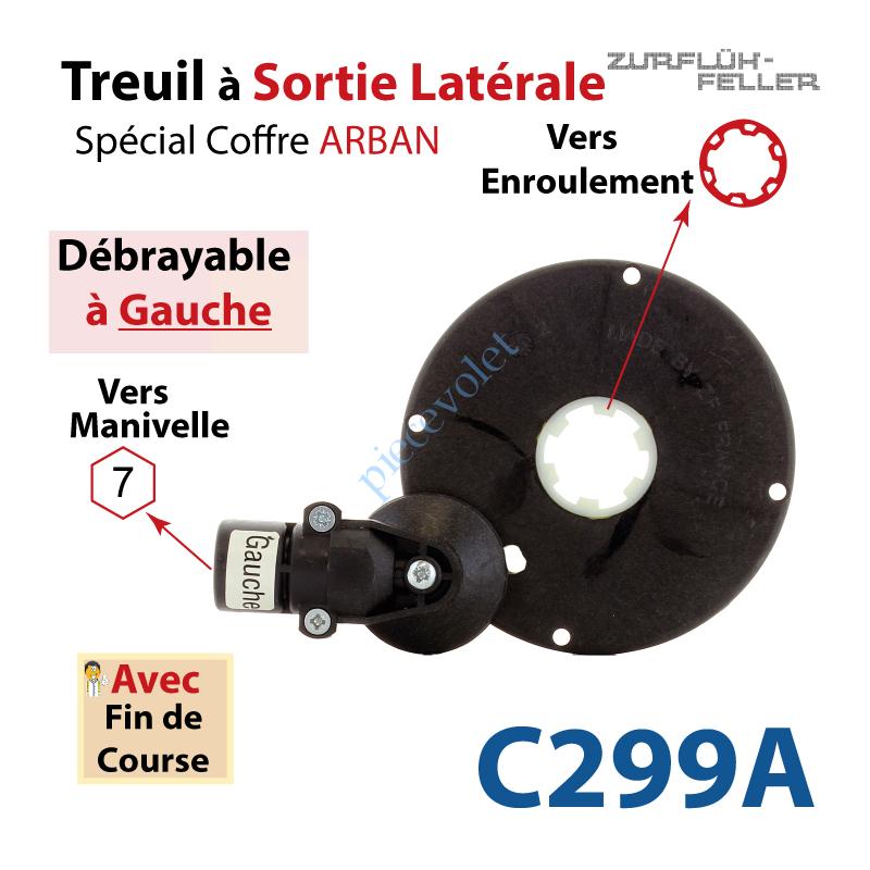 C299A Treuil Sort Lat Débra Ga Ent Hexa 7 Fem Sort Crabot
