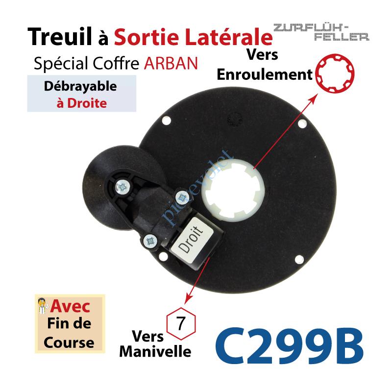C299B Treuil Sort Lat Débra Dr Ent Hexa 7 Fem Sort Crabot