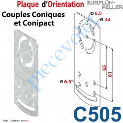 C505 Plaque orientation