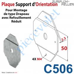 C506 Plaque  d'Orientation