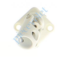 D840NG Sortie Mini Bloc-Guide Angulaire Plat30x30 Genø12 Fem-Hex7 lg170