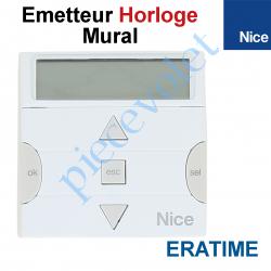 ERATIME Emetteur Horloge EraTime Mural 3 Fonctions 6 Canaux 433,92MHz Rolling Code