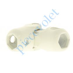 F712A Genouillère Blanche Hexa 10 T5 - Hexa 10 T5 Sans Vis