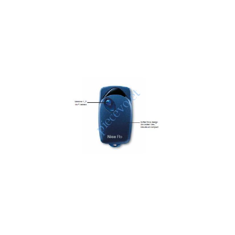 FLO1 Emetteur Flo 1 Fonction 433,92MHz Combinaison Fixe à Switchs 1024 Combinaisons