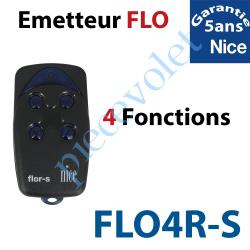 FLO4R-S Emetteur Flor-s 4 Fonctions 433,92MHz Rolling Code