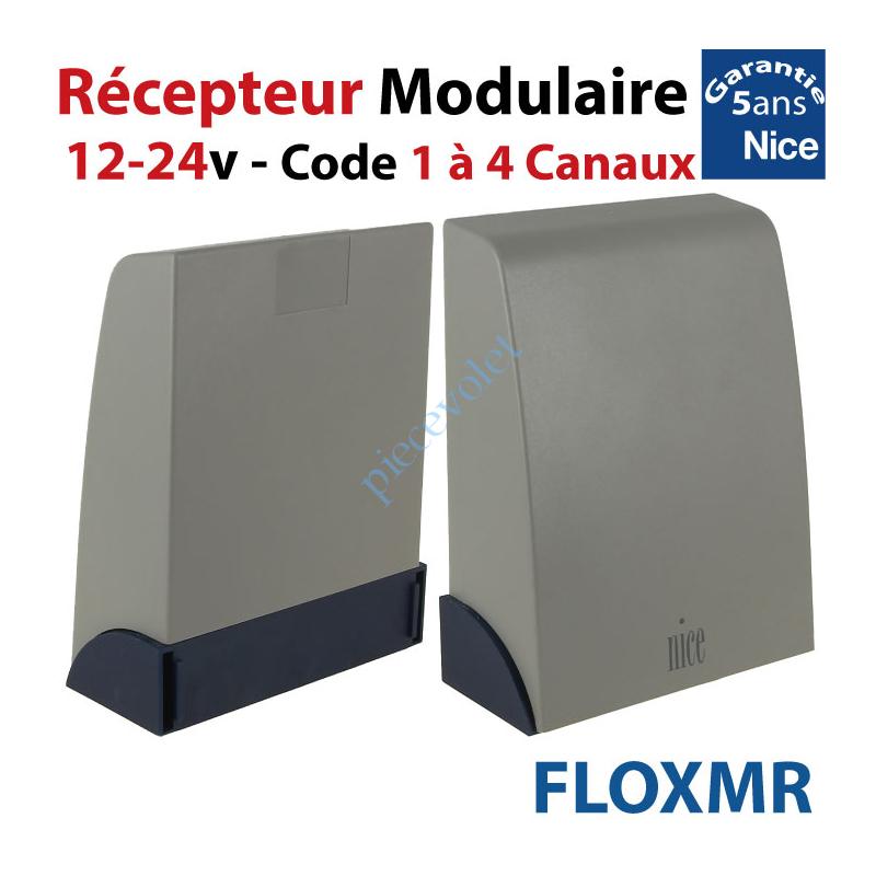 FLOXMR Récepteur Modulaire 12-24 v ca/cc 433,92MHz Rolling Code 1 à 4 canaux