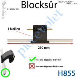 H855 Verrou Automatique Blocksûr de 1 Maillon pour Lame 8-9 mm d'épaisseur