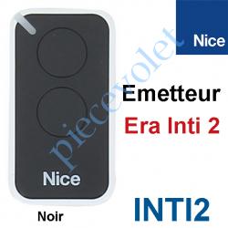 INTI2 Emetteur Era Inti 2 Fonctions 433,92MHz Rolling Code Coloris Noir