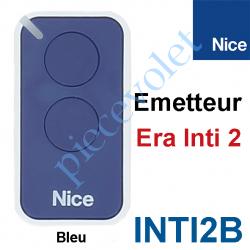 INTI2B Emetteur Era Inti 2 Fonctions 433,92MHz Rolling Code Coloris Bleu