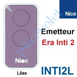 INTI2L Emetteur Era Inti 2 Fonctions 433,92MHz Rolling Code Coloris Lilas