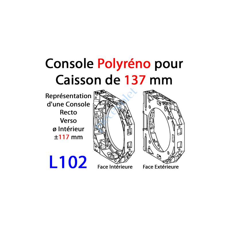 L102 Console Polyréno 137