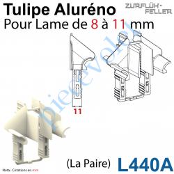 L440A Tulipe Aluréno (Paire) pour Lame de 8 à 11 mm