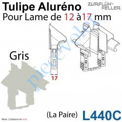 L440C Tulipe Aluréno (Paire) pour Lame de 12 à 17 mm