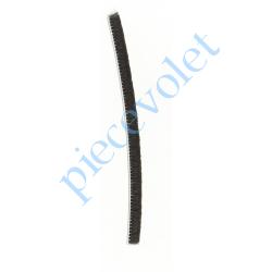 LBF0489270 Joint Brosse Noir Talon 4,8 mm x Ht Totale 6,75 mm (mètre linéaire)
