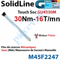 M45F2247 Moteur Geiger Filaire SolidLine Touch Soc 30/16 GU4530M