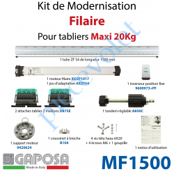 MF1500 Kit de Modernisation Bloc Baie Fenêtre Filaire