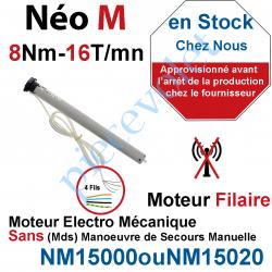 NM15000 Moteur Nice Filaire Néo M 8/16 M 50 sans Mds