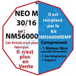 NM56000 Moteur Nice Filaire Néo M 30/16 M 50 sans Mds, remplacé par NM56000REMP