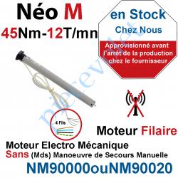 NM90000 Moteur Nice Filaire Néo M 45/12 M 50 sans Mds