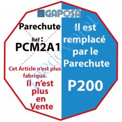PCM2A1 Parechute Sécurité Réarmable 137 Nm Entraînement Carré 18 mm Avec Contact Sécurité Câble Lg 1m Sans Visserie