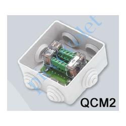QCM2 Platine de Commande Groupée de 2 Moteurs dans Coffret