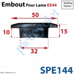 SPE144 Embout de lames EX 44