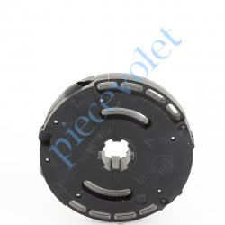 T1004FC Treuil à Vis 1/6 Débrayable Capacité 18 Kg Avec Fdc Crabot Deprat Sortie Hexa 7
