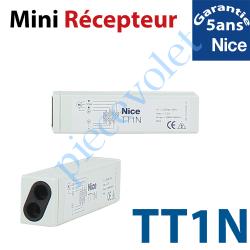 TT1N Récepteur Mini Volet Roulant 230 vca 1 canal 433,92MHz Rolling Code 3 Fonctions Sortie 500 w ip 55