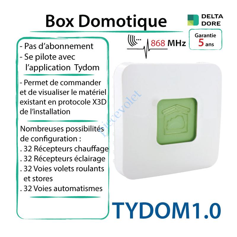 Delta Dore Tydom1 0 Box Domotique Tydom 1 0 Delta Dore X3d A