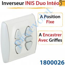 Inverseur Inis Duo Intéo à Encastrer avec Griffes à...
