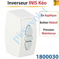 Inverseur Inis Kéo en Applique Boîtier Réduit à Pression...