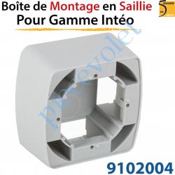 Boîtier de Montage en Saillie de 43,5 mm Coloris Gris...