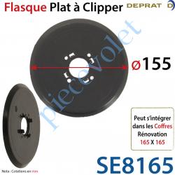 Flasque Plat Diamètre Extérieur 155 mm à Clipper sur...