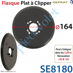 Flasque Plat Diamètre Extérieur 164 mm à Clipper sur...