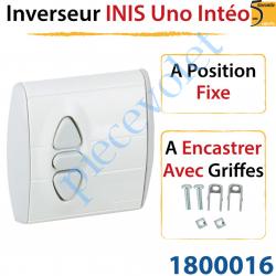 Inverseur Inis Uno Intéo à Encastrer avec Griffes à...