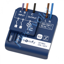 Micro Récepteur Somfy Izymo io pour Volet Roulant à...