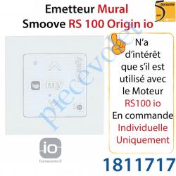 Emetteur Mural Smoove RS 100 Origin io Blanc Avec Cadre