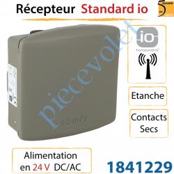 Récepteur Somfy io Etanche Sortie 2 Contacts Secs...
