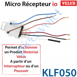 Micro Récepteur Velux io pour Actionner un produit...
