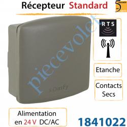 Récepteur Rts Standard Alimenté en 24v Dc/Ac Etanche Rts...