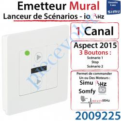 Emetteur Mural Lanceur de Scenarios Aspect 2015 Simu BHz...