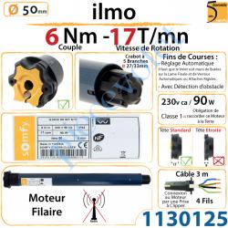 Moteur Filaire Electronique ilmo 50 WT 6/17 Réglage...